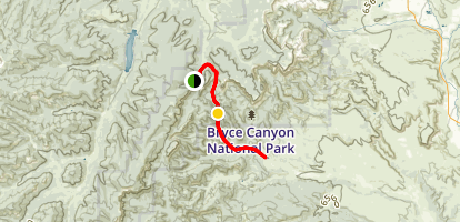 Sheep Creek Connector Trail Map