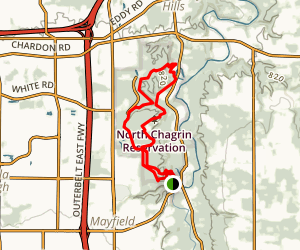 North Chagrin Reservation Loop Map
