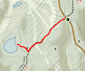 Pleiad Lake Trail Map