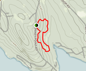 Bonney Point Loop Map