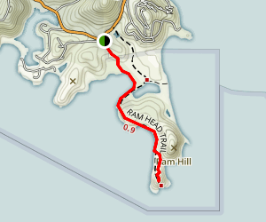 Ram Head Trail Map