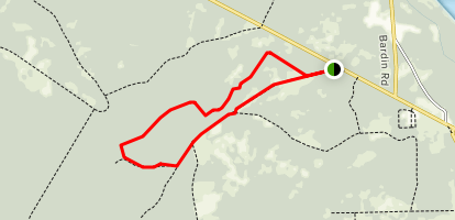 Rice Creek Conservation Area Trails Map