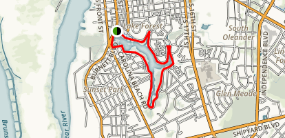 Greenfield Lake Park Trail Map