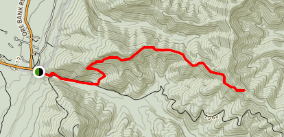 Austin Mountain Trail Map