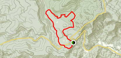 Cowpasture Loop Map