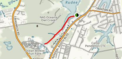 Owl's Creek Map