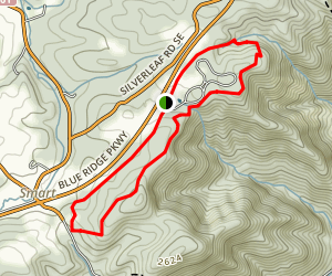 Smart View Loop Trail Map