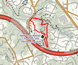 Wolf Trap Loop Trail Map