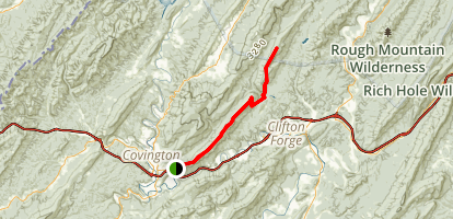 Fore Mountain Trail Map