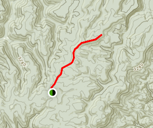 Rich Mountain Trail Map
