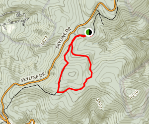 Saddleback Mountain Trail Map
