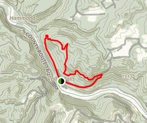 Valley Falls Loop Trail Map
