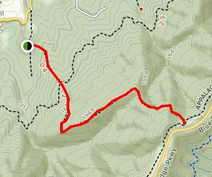Hammond Hollow Trail Map