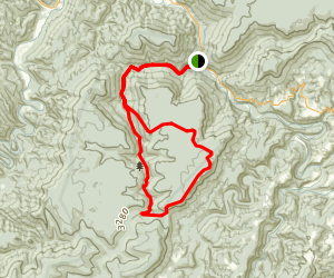Lower Otter Creek Loop Trail Map