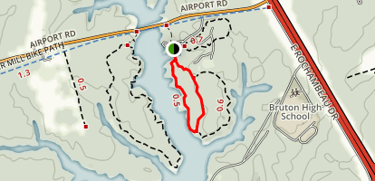 Bayberry Nature Trail Short Loop Map
