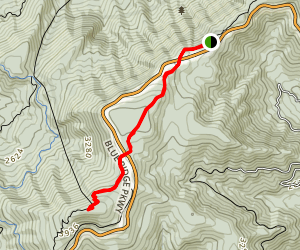 Thunder Ridge via Appalachian Trail Map