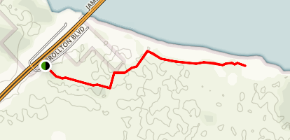 Ragged Island Trail Map