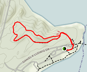 Lee's Woods Trail  Map