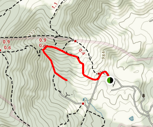 Gap Run Trail Map