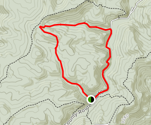 Potato Hole and Meatbox Run Trail Map