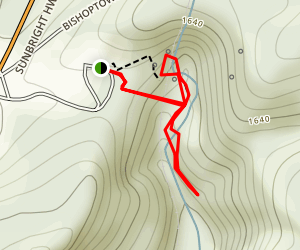Tunnel Hill Trail Map