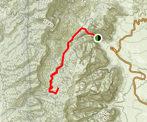 Red Rocks North Peak Trail Map