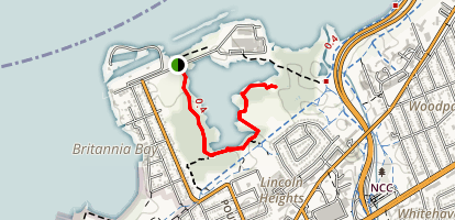 Mud Lake Trail Map
