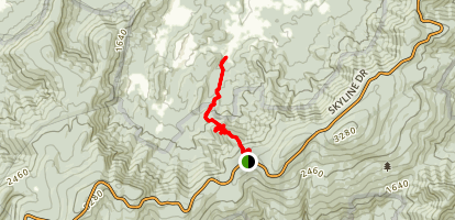 Gravel Springs Trail Map