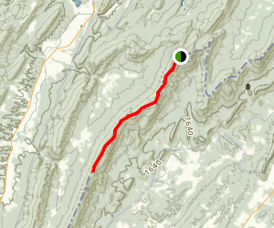 North Mountain Trail Map