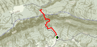 Chadwell Gap Trail Map