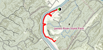 James River Trail Map