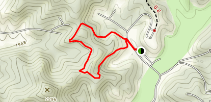 Twin Falls Loop Trail Map
