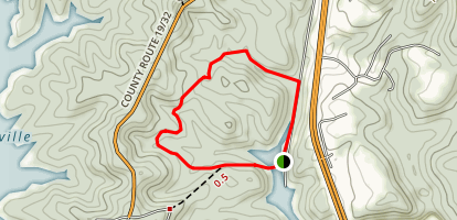 Salmon Run Trail Map