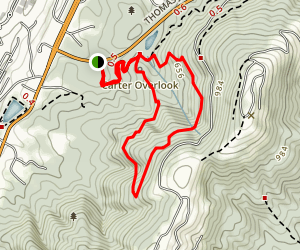 Hartman Orchard and Mountain Trail Loop Map