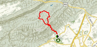 Gateway Trail to Jacob\'s Ladder to Snakeroot Loop Trail ...