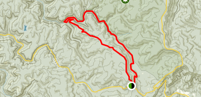 Cranberry Backcountry Via Kennison Mountain Trail Map