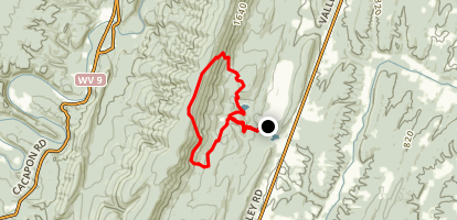 Laurel and Ziler Loop Trail Map
