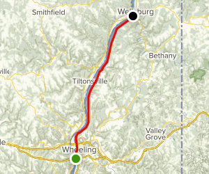 Greater Wheeling Trail Map