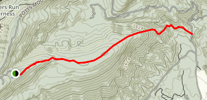 Potts Arm Trail Map