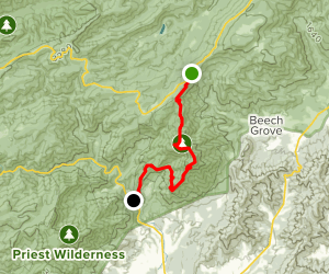 Appalachian Trail: Reeds Gap to Tye River Map