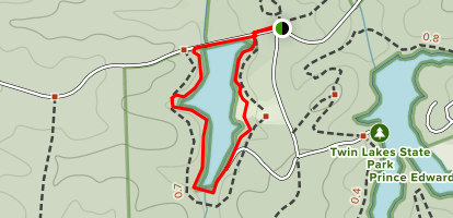 Goodwin Lake Trail Map