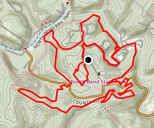 North Bend Park Trails Map