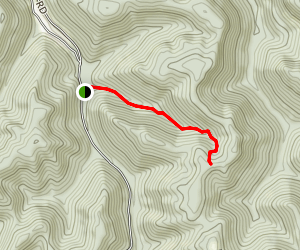 Johnson Hollow Trail Map