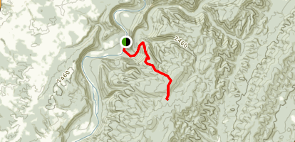 South Boundary Trail Map
