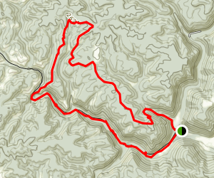 Mash Fork Loop Trail Map