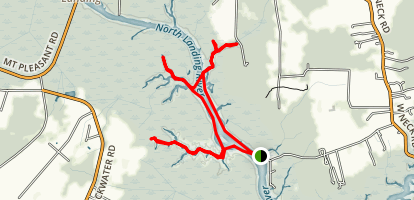 North Landing River Map