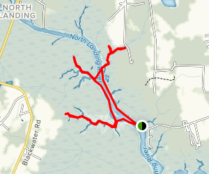 North Landing River [CLOSED] Map