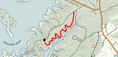Buck Run Trail Map