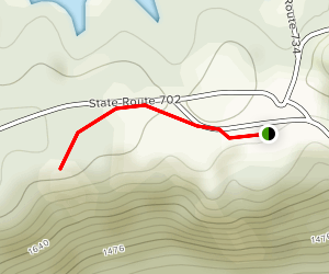 Towers Overlook Trail Map