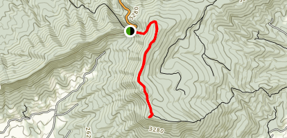 Kelly Knob via Appalachian Trail Map